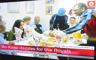 Duke and Duchess of Sussex take tea with Bo-Kaap residents