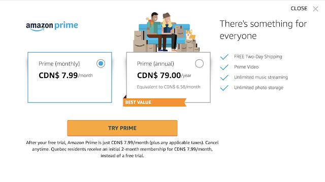 Amazon Prime Ad