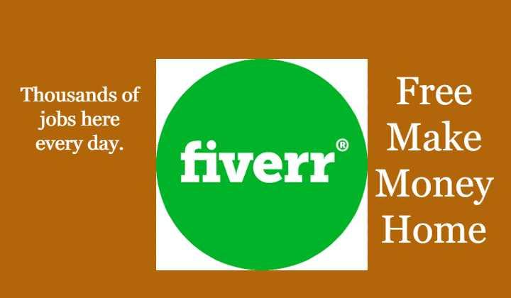 Make money free with www.fiverr.com
