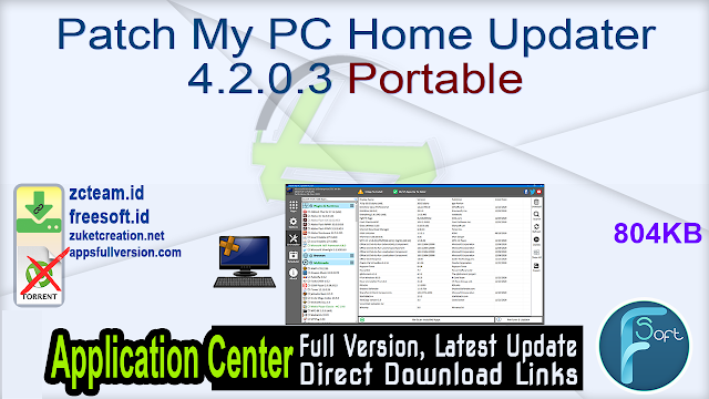 Patch My PC Home Updater 4.2.0.3 Portable
