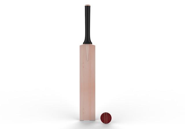 Cricket Bat&Ball 3d Model Free Download,Obj,Maya,Low poly