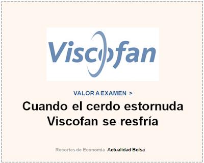VISCOFAN, VALOR A EXAMEN en Cinco Días.  20 Octubre 2019.