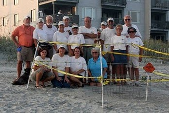 NMB Sea Turtle Patrol Volunteers