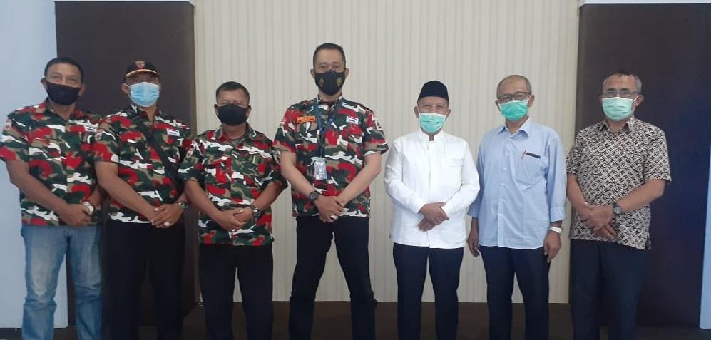 Demi Kepentingan Ummat, Laskar Merah Putih Jalin Sinergitas Dengan Muhammadiyah