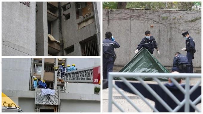 【無可疑】兩名老翁墜樓當場身亡 警方正追查死因