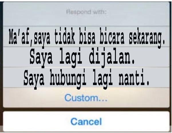 Cara Mudah Membalas Pesan Teks Secara Otomatis pada iPhone 3