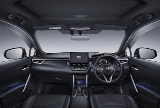 Fitur Kenyamanan dan Keamanan Toyota Corolla Cross