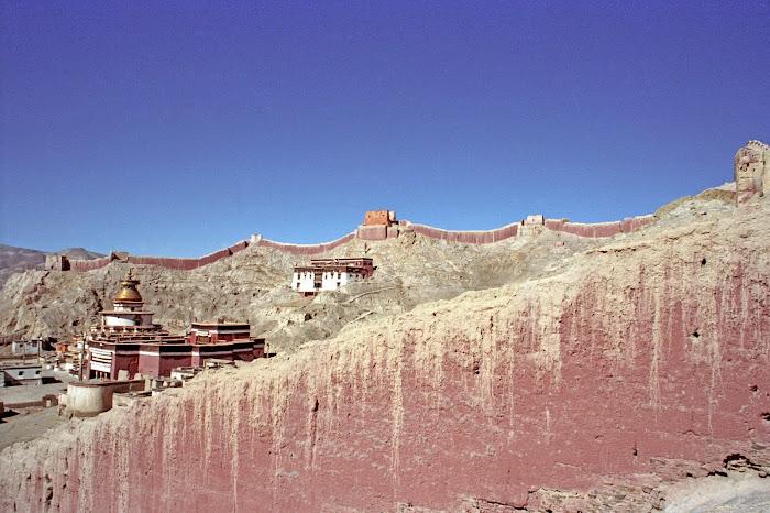 Tibet, Gyantse, Palkhorchöde, © L. Gigout, 1990