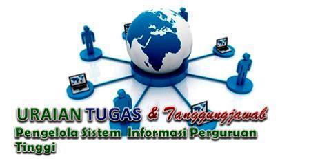 Tugas Pengelola Sistem Informasi Perguruan Tinggi