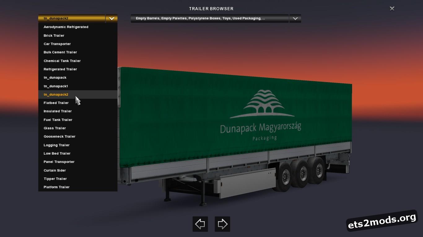 Dunapack Trailers Pack