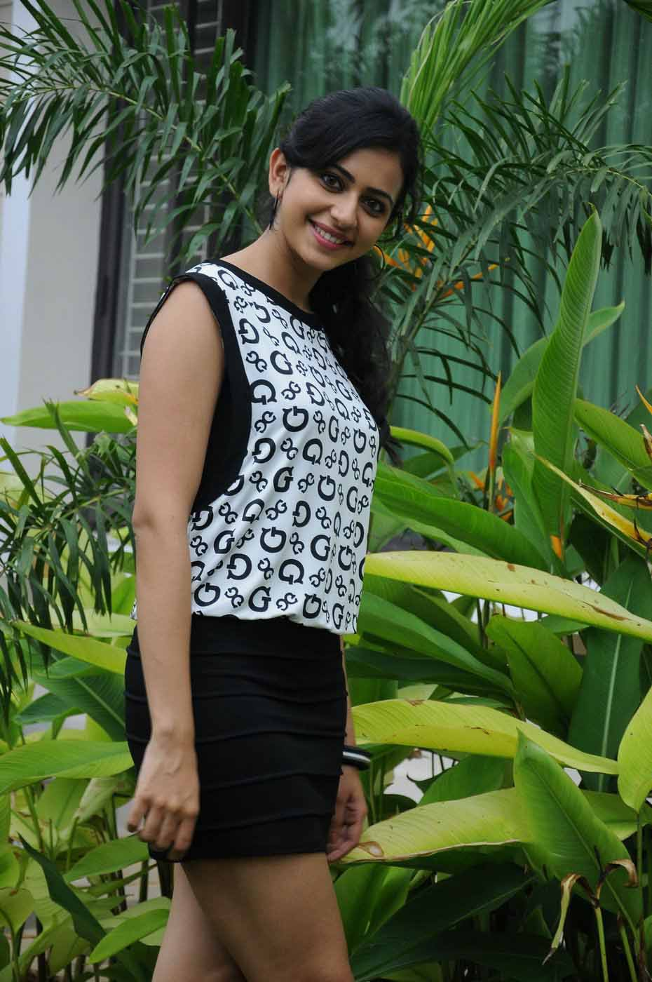 Rakul Preet Singh Latest Hot Photos In Short Dress  Hq -7024