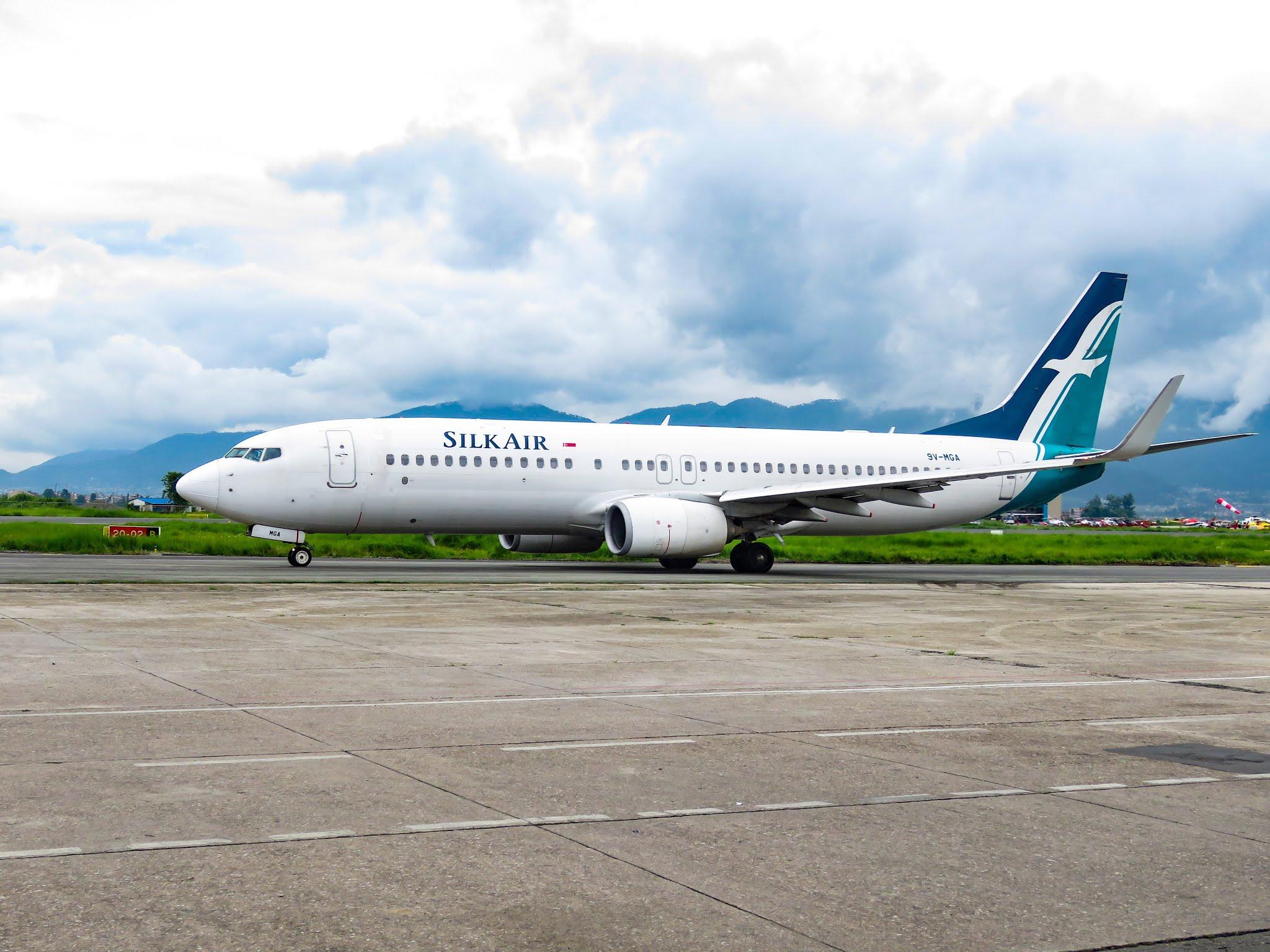 Silk Air Boeing 737