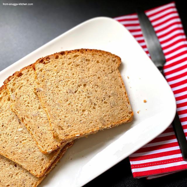 Easy-Peasy-Brot - Körner-Joghurt-Brot