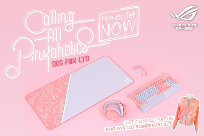 ASUS ROG Initiates Pre-order For ASUS ROG Pink LTD Peripherals