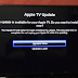 Apple TV update terug