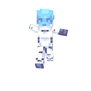 Overwatch Eco Minecraft Skin