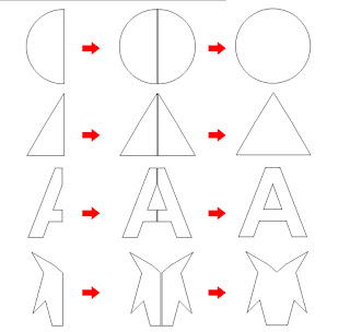 belajar coreldraw, membuat vector