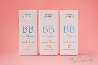 BB Creams y CC Cream de Ziaja