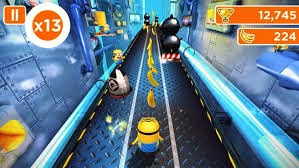 despicable me 2, game, subway runner, minion rush, gameplay, android, images, gambar, Foto,
