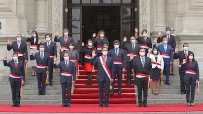 Conoce los integrantes del nuevo Gabinete Ministerial presidido por Walter Martos