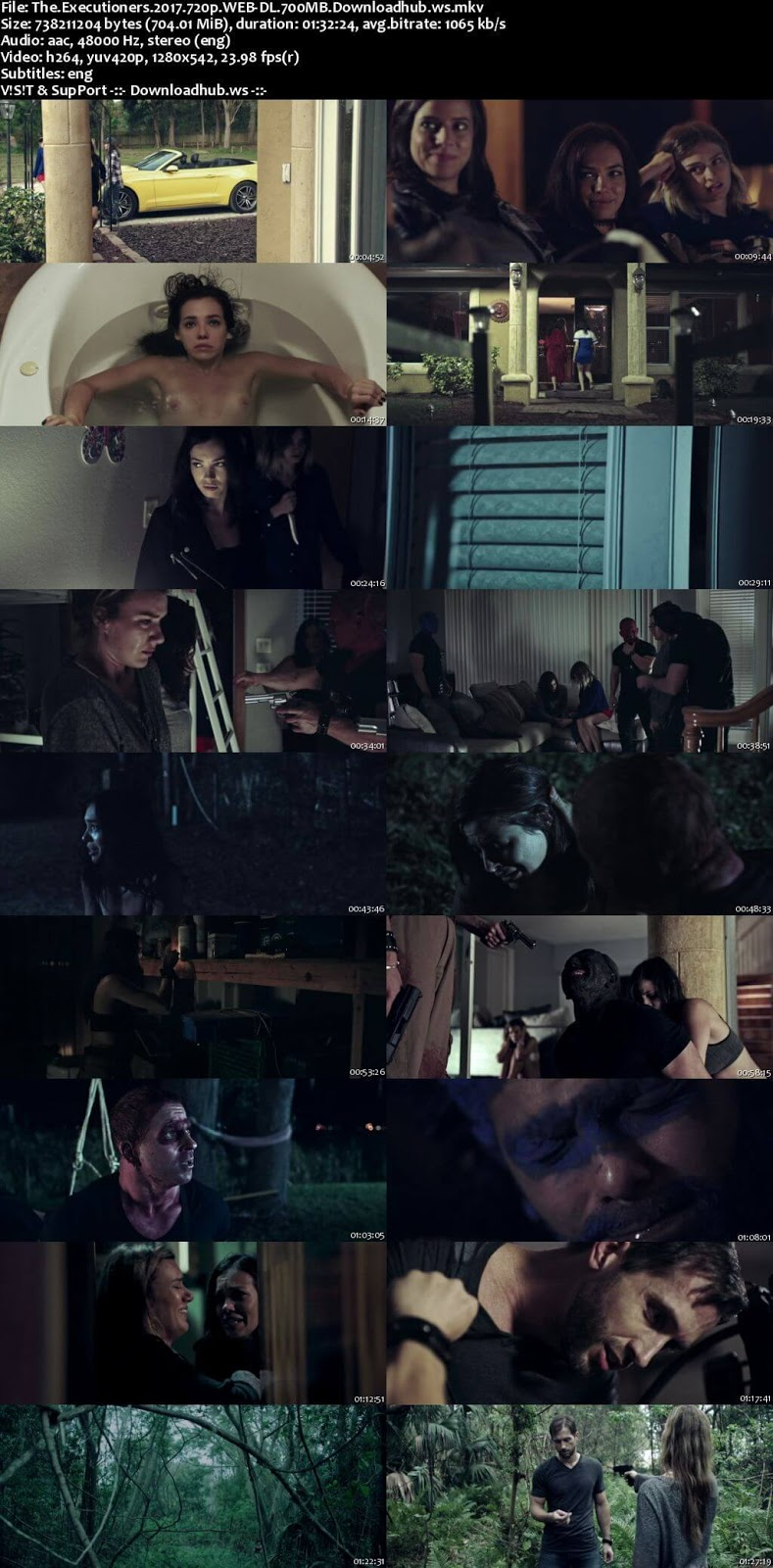 The Executioners 2017 English 720p Web-DL 700MB