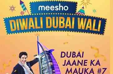Meesho App Diwali Offer: Get a Chance To Win Redmi 6 & Dubai Trip