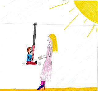 Kinder sollten möglichst nicht auf Spielgeräte gesetzt werden, sondern diese selbst erobern dürfen!