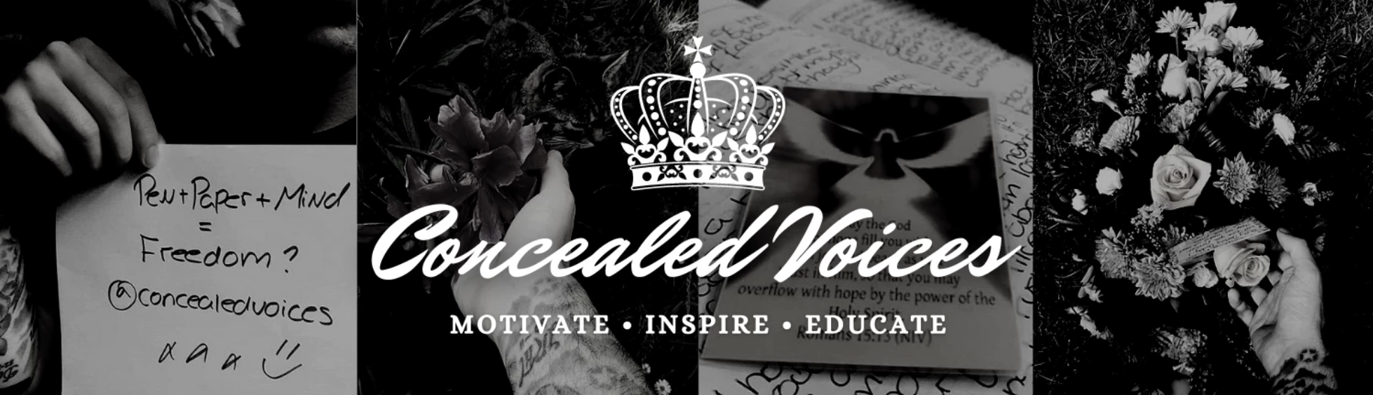 Blog header from concealedvoices.com