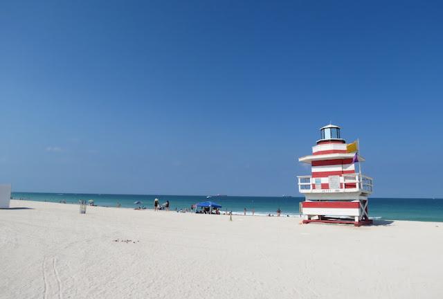 Movimentação de turistas em Miami em agosto