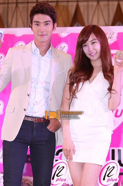 "Siwon & Tiffany released new ""12Plus"" CF! | Daily K Pop News"
