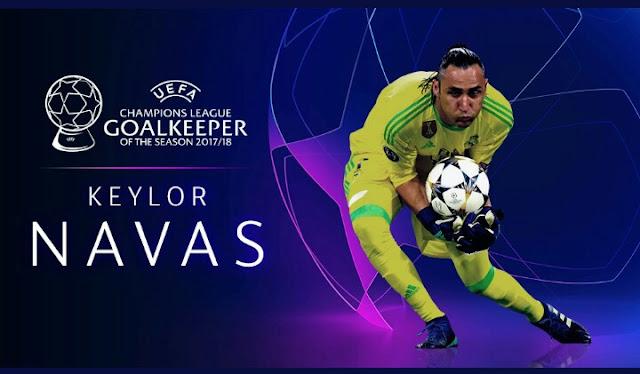 UEFA Champions League Goalkeeper Of The Season 2017/18