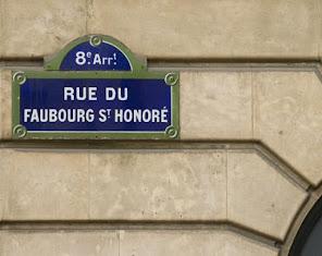 La rue du faubourg Saint-Honoré