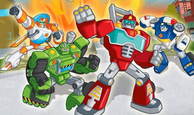 Transformers Resque Bots