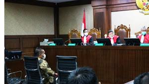 Dua anak buah mantan Mensos Juliari Batubara didakwa jadi perantara