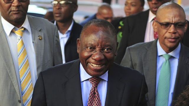 Cyril Ramaphosa Becomes South Africa's New President