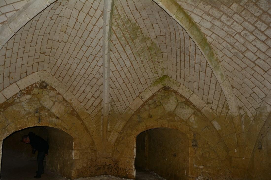 souterrains chateau du Lude
