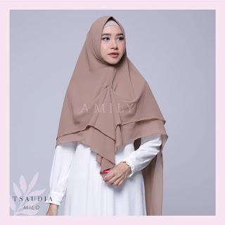 Hijab Amily Tsaudia Milo
