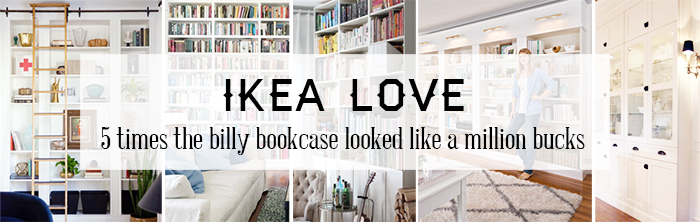 ashley minnings ikea hacks billy bookcase built ins. Black Bedroom Furniture Sets. Home Design Ideas