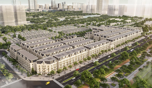 dự án Sunshine Helios Capital shophouse villas Ciputra Hà Nội
