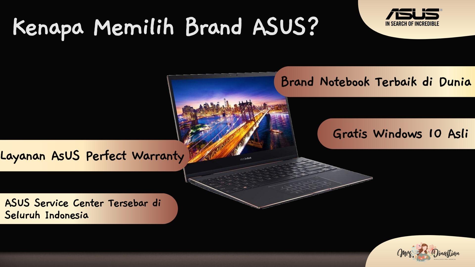 Kenapa Memilih Brand ASUS