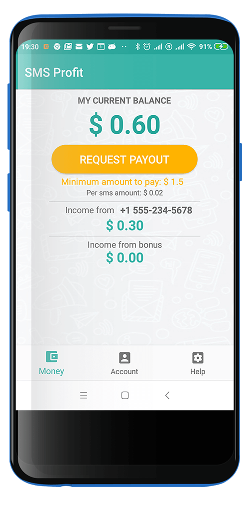 SMS Profit APK- Receive SMS And Earn Money APK 2019