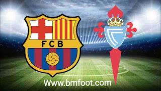 لعبة برشلونة سيلتا فيغو مباشرة