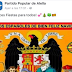 El PP de Alella borra su felicitación navideña con símbolos fascistas