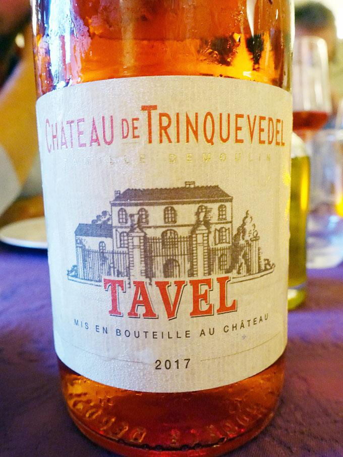 Château Trinquevedel Tavel 2017 (89 pts)