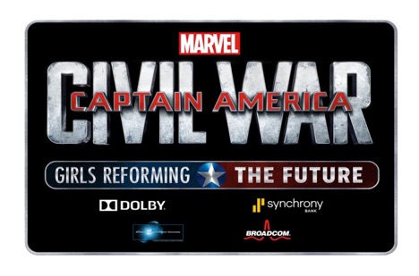 Captain American Civil War, Disney Updates, Girls Reforming the Future,