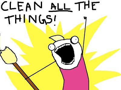 meme- clean ALL the things!