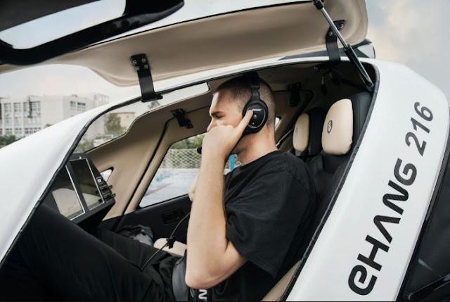 EHang 216 Cockpit
