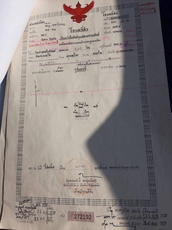 ขายถูก ที่ดินองครักษ์ 336 วา 2.9 แสน 0865199038