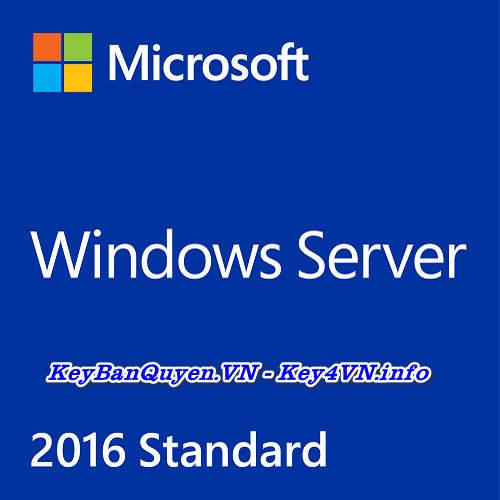 Mua bán key bản quyền Windows Server 2016 Standard .