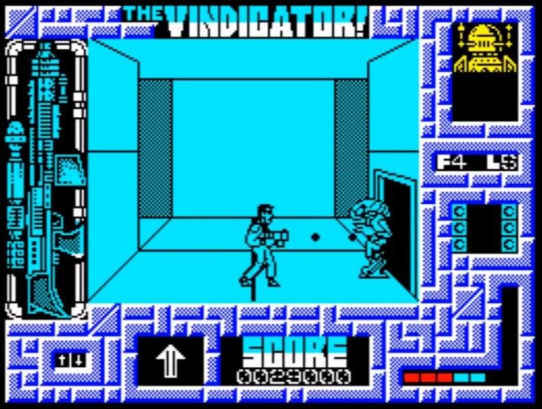 The Vindicator - Spectrum ZX